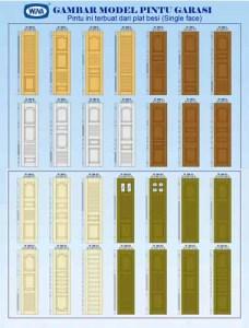 desain pintu garasi wina